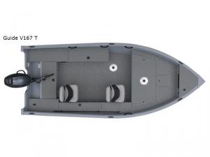 Angler V Series Guide V167 T Floorplan Image