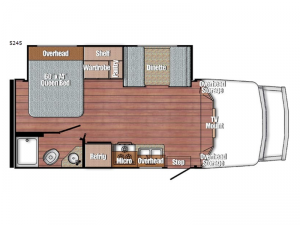 BT Cruiser 5245 Floorplan Image