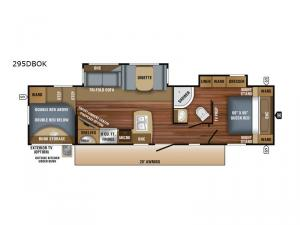 Eagle HT 295DBOK Floorplan Image
