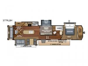 North Point 377RLBH Floorplan Image