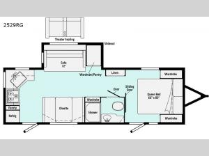 Minnie 2529RG Floorplan Image