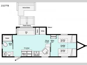 Minnie 2327TB Floorplan Image