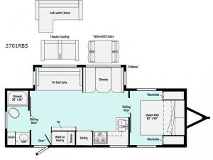 Minnie 2701RBS Floorplan Image