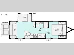 Minnie 2529RL Floorplan Image