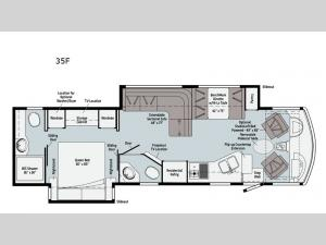 Adventurer 35F Floorplan Image