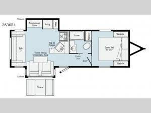 Minnie 2630RL Floorplan Image