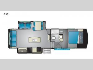 ElkRidge Xtreme Light 293 Floorplan Image
