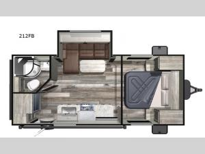 Super Lite 212FB Floorplan Image