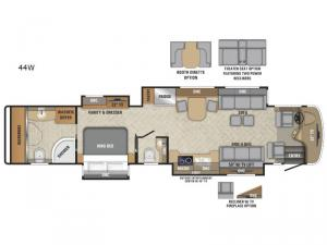 Aspire 44W Floorplan Image