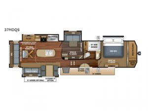 Pinnacle 37MDQS Floorplan Image