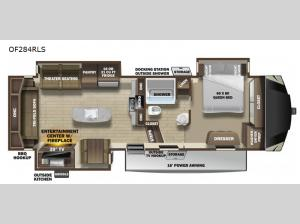 Open Range OF284RLS Floorplan Image