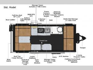 Mantis Std. Model Floorplan Image