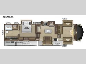 Open Range OF378RBS Floorplan Image