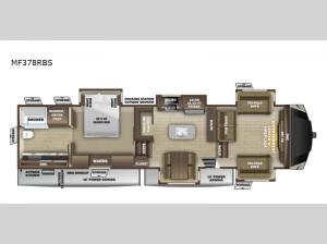 Mesa Ridge MF378RBS Floorplan Image