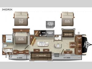 Eagle 340DROK Floorplan Image