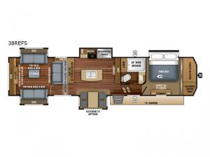 Pinnacle 38REFS Floorplan Image