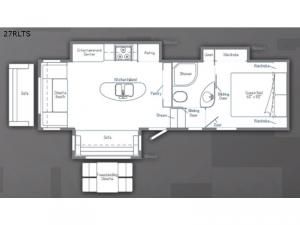 Minnie Plus 27RLTS Floorplan Image