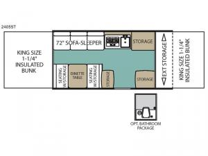 Epic Series 2405ST Floorplan Image
