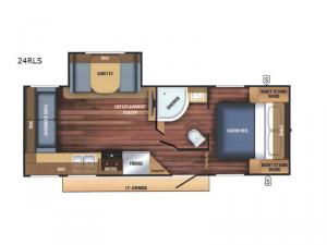 Braxton Creek 24RLS Floorplan Image