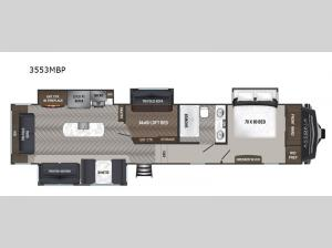 Astoria 3553MBP Floorplan Image