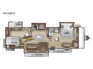 Mesa Ridge MR338BHS Floorplan Image