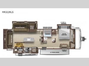 Mesa Ridge MR322RLS Floorplan Image