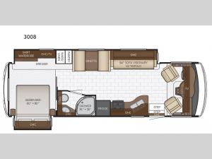 Bay Star Sport 3008 Floorplan Image