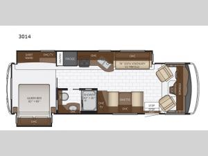 Bay Star Sport 3014 Floorplan Image