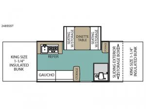 Legend 2485SST Floorplan Image