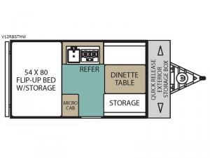Legend Hardside V12RBSTHW Floorplan Image