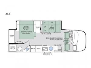 Axis 25.6 Floorplan Image