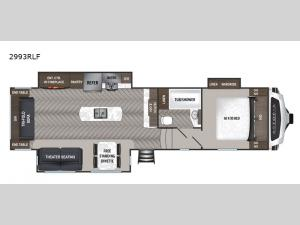 Astoria 2993RLF Floorplan Image
