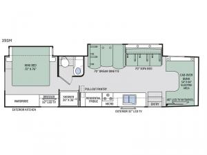 Chateau Super C 35SM Floorplan Image