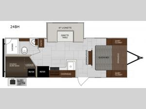 Impression 24BH Floorplan Image