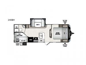 Passport 240BH SL Series Floorplan Image