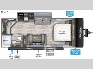 Imagine XLS 22MLE Floorplan Image