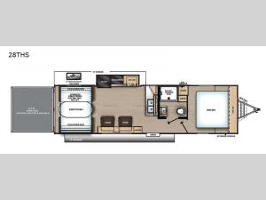 Catalina Trail Blazer 28THS Floorplan Image