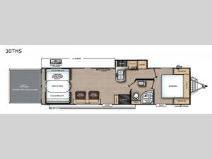 Catalina Trail Blazer 30THS Floorplan Image