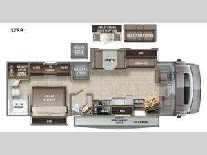Accolade 37RB Floorplan Image