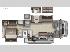Accolade 37TS Floorplan Image