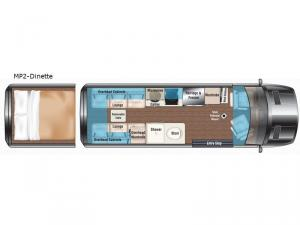 Weekender MP2-Dinette Floorplan Image