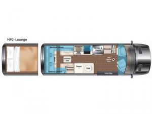 Weekender MP2-Lounge Floorplan Image