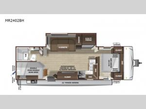Mesa  Ridge Lite MR2402BH Floorplan Image