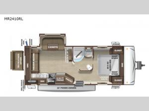 Mesa  Ridge Lite MR2410RL Floorplan Image