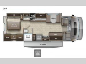 Esteem 30X Floorplan Image