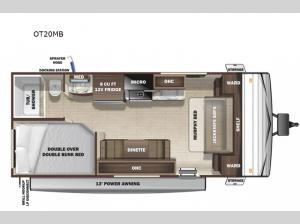 Open Range Conventional OT20MB Floorplan Image