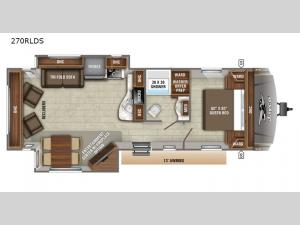 Eagle HT 270RLDS Floorplan Image