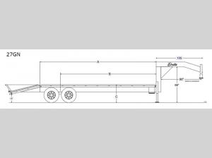 Single-Wheel Flatbed 27GN Floorplan Image