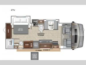 Esteem 27U Floorplan Image