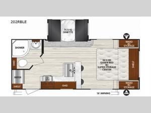 Surveyor 202RBLE Floorplan Image